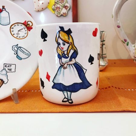 tazza alice in wonderland