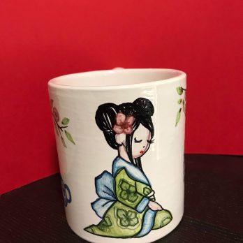 Tazza in ceramica Giapponesine – Butterfly