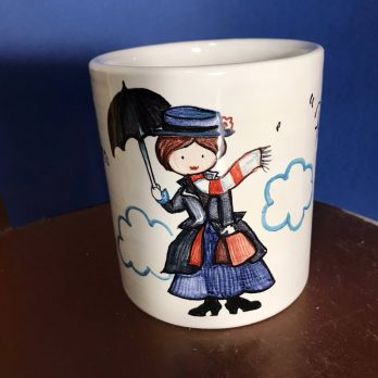 Tazza in ceramica Mary Poppins