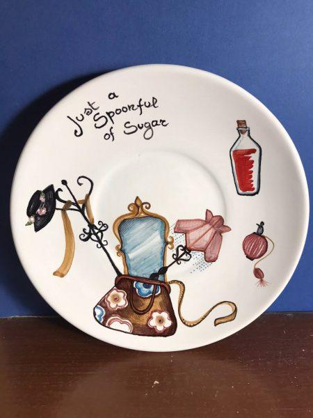 piatto ceramica Mary Poppins