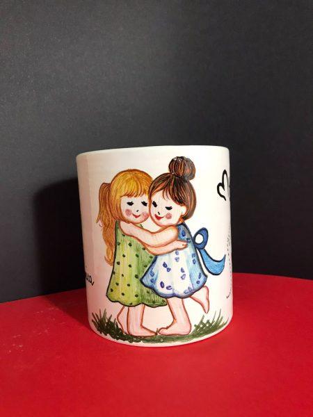 tazza ceramica migliori amiche