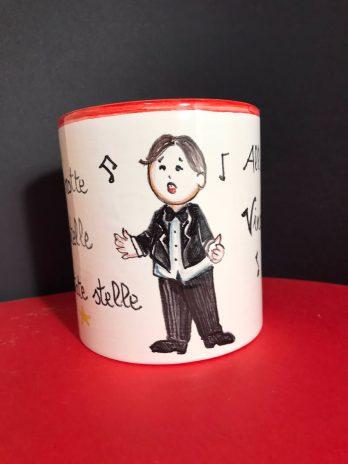 Tazza in ceramica personalizzata Nessun Dorma