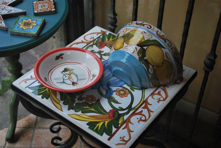 ceramica dipinta a mano