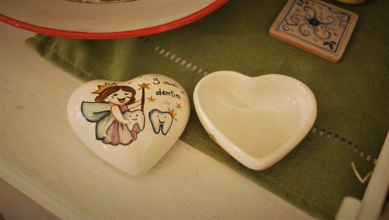 contenitore per dentini ceramica