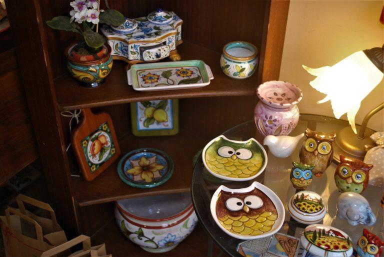 oggetti in ceramica artigianale