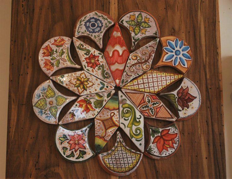stella fiori ceramica