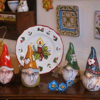 Gnomo in ceramica