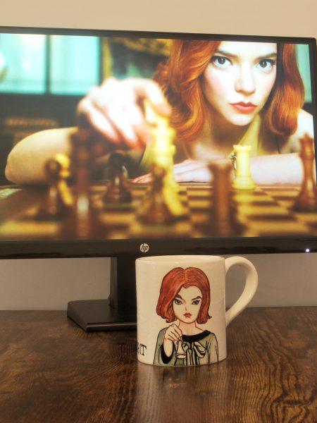 tazza in ceramica La regina degli scacchi